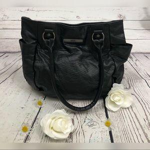 Vans Off The Wall Black Faux Leather Handbag